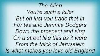 Adam Ant - Alien Lyrics
