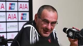 Maurizio Sarri Press Conference After Juventus Lose Spur 2-3