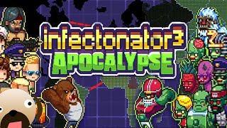 WORLD WIDE ZOMBIE APOCALYPSE - Infectonator 3| Infectonator Apocalypse Gameplay