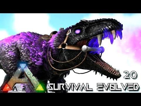 Ark: survival evolved - new ultimate giga darkstar tamed e20 (mod