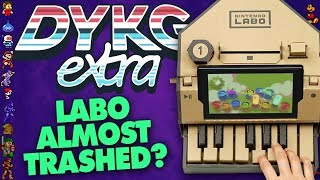 Nintendo Labo Almost Thrown Out [Ratings Board Facts] - Did You Know Gaming? extra Feat. Dazz