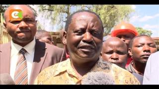 Foreigners, non-eligible citizens registered as voters, Raila claims