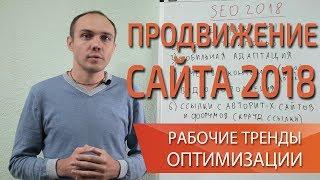 Как эффективно продвигать сайт в 2018 году? Тренды SEO оптимизации сайта — Максим Набиуллин