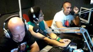 BENNY B sur RADIO KIF 97.8 FM avec laly, miss h et fraulein