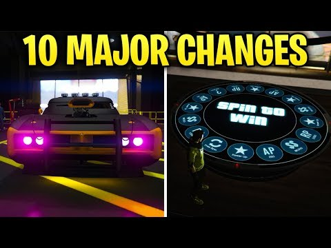 10 MAJOR Changes Rockstar Made In The GTA Online ARENA WARS Update