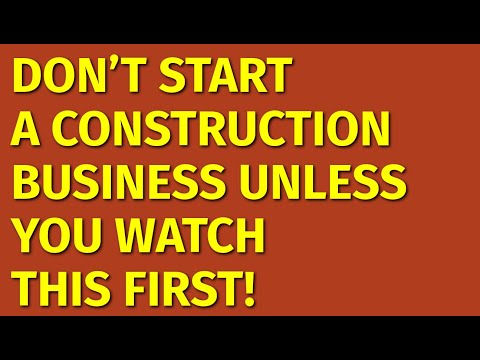 , title : 'How to Start a Construction Business   Including Free Construction Business Plan Template