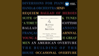 Diversions for Piano Left Hand, Op. 21: Theme -