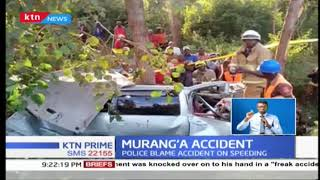 Four people killed, three others injured in Maragua accident