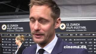 War on Everyone // Alexander Skarsgård // Interview // CINEMA-Redaktion
