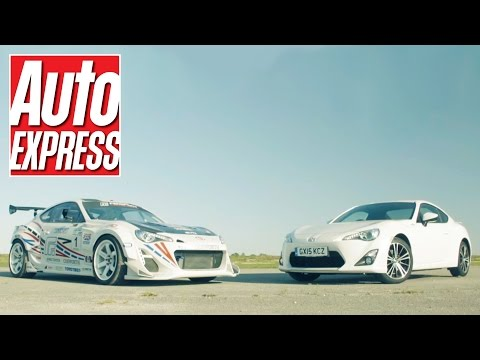 Toyota GT 86 vs Fensport GT86R track battle