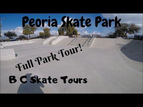 Peoria Skate Park Full Skate Park Tour Peoria, Arizona (Phoenix)