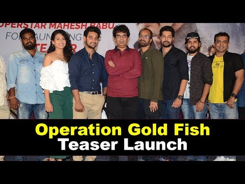 Operation Gold Fish Movie Teaser Launch