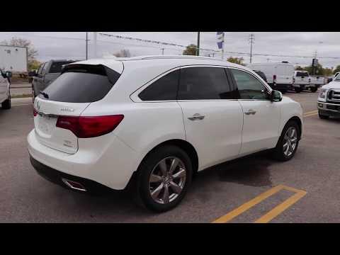 PreOwned Acura MDX Elite Pkg AWD W HEATEDCOOLED LEATHER - Acura mdx remote start