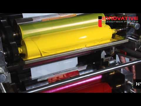 Multi Color Flexo Printing Machine