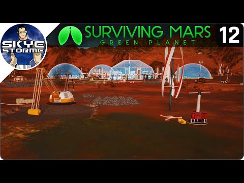 TERRAFORMING THE VEGETATION! - Surviving Mars Green Planet EP 12 - Gameplay & Tips