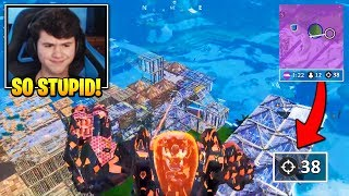 Bugha & Pros FREAK OUT After This Mech KILLS THE WHOLE LOBBY In 400K Fortnite Tournament