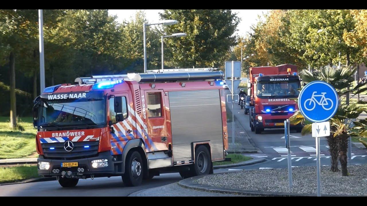 Hulpdiensten met spoed naar Zeer Grote Brand Lekstroom Zoetermeer