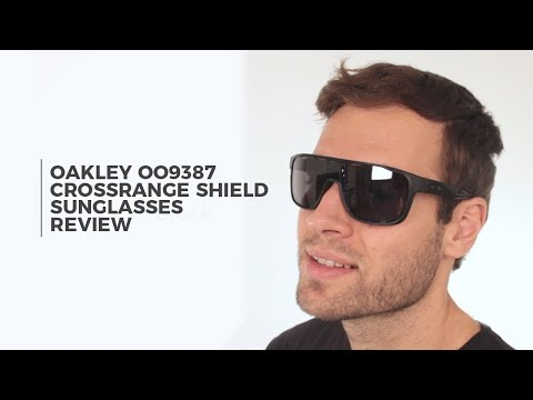 Oakley OO9387 CROSSRANGE SHIELD Sunglasses Review | VisionDirect