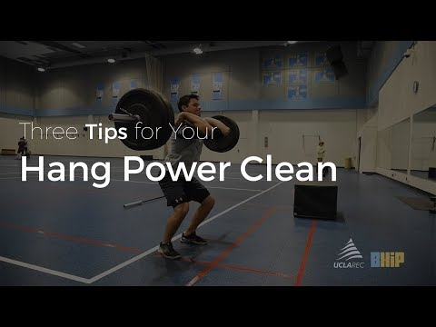 Three Tips - Hang Power Clean