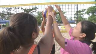 OBEC Young Beach Volleyball 2016 Inspired by Thai PBS - Sport Tips : คลิปการนำเสนอเทคนิคการเล่นวอลเลย์บอลชายหาด จากนักกีฬาทีมโรงเรียนวัดสิงห์ตัวแทนจากสนามที่2 ชิงแชมป์ภาคกลางและภาคตะวันออก