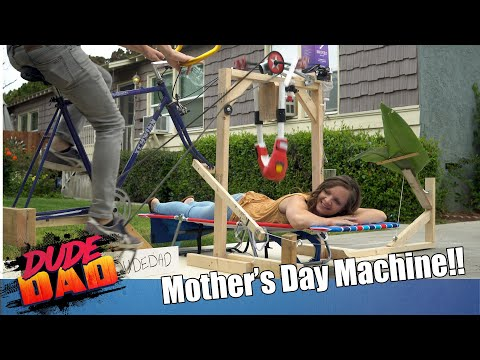 Mother's Day Pampering Machine | Dude Dad