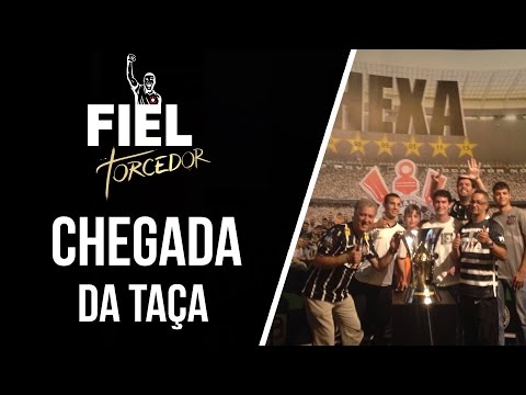 Chegada da taça do Hexa no Memorial