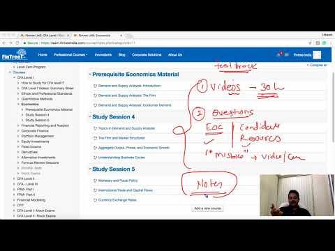 CFA Level I : How to Study for Economics - YouTube