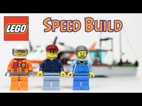 Vidéo LEGO City 60015 : L'avion des garde-côtes