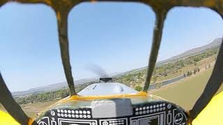 First fpv air tractor from goggles comparison