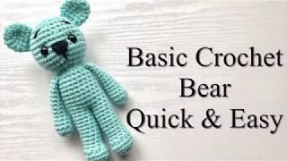 How To Crochet A Bear