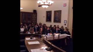 Rep. Speier on the Law, Due Process, & Surveys