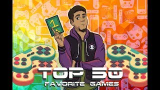 Top Fifty Favorite Video Games (Part 1)