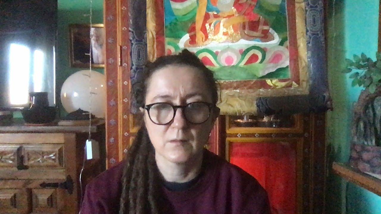 Lama Gangchen Tantric Self-Healing 2- Commentary by Lama Caroline - part 60 (EN) Colours