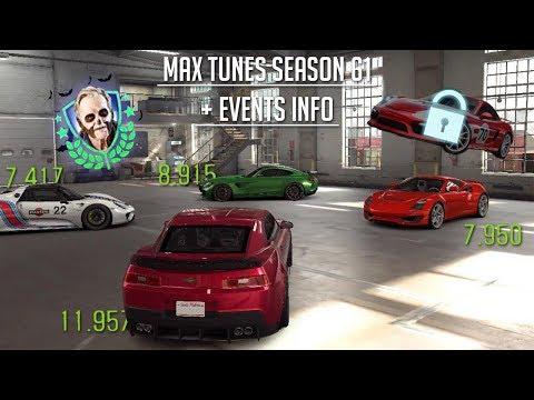 CSR Racing 2 | Max Tunes Season 61 Cars (Saleen 7.9!) + Halloween Cars to use & Salzburg Unlock!