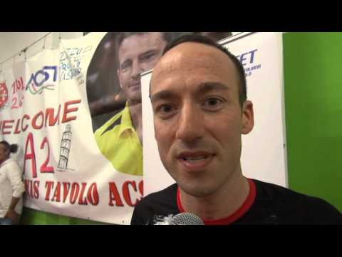 Preview video Tennis Tavolo Acsi Pisa promossa in A2: intervista con Alessio Zuanigh