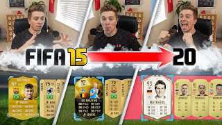 I Opened 1 INSANE Pack on Every Fifa from 15-20