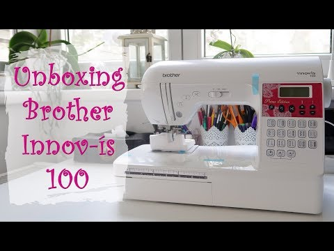 Brother Innovis 100 | Unboxing & First Impressions