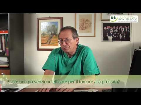 La percentuale di cancro alla prostata