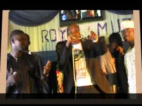 Ola Johnson at Royalman Adeyemi Album Launching