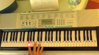How To Play ~ Cough Syrup ~ Young The Giant ~ LetterNotePlayer ©