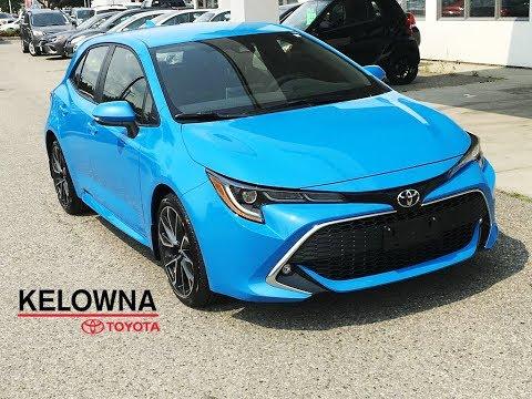 2019 Toyota Corolla Xse Hatchback Blue Flame