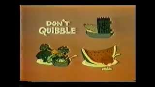 VINTAGE 80'S TIME FOR TIMER PSA ABOUT TRYING NEW FOODS/EATING A SMORGASBORD