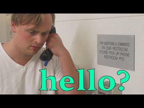 Phone In The Bathroom