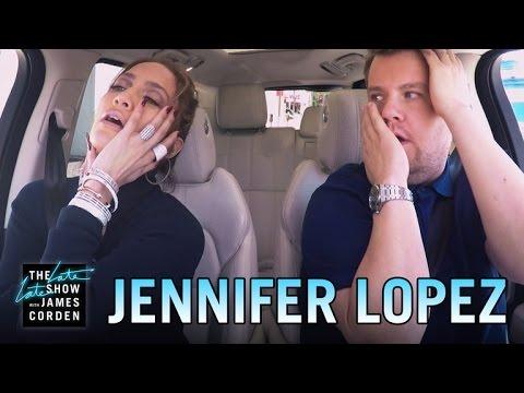 Karaoke spolujízda s Jeniffer Lopez