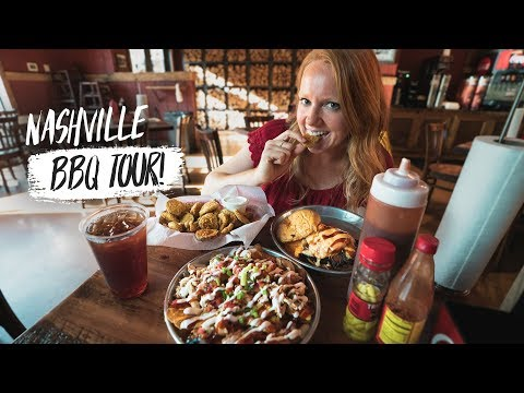 Nashville BBQ TOUR! - The Best Barbecue in the USA?? (Southern American Food)