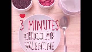 สูตรทำช๊อคโกแลต วาเลนไทน์ เพื่อกับคนรัก ทำง่ายๆใน 3 นาที