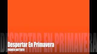 Despertar en primavera   Franco Battiato