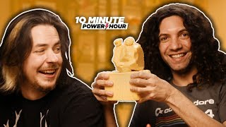 Making CHEESE Sculptures! - Ten Minute Power Hour