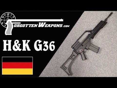 Hampk G36 Germany Adopts The 556mm Cartridge
