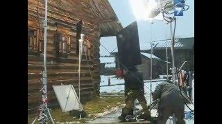 """Съемки фильма """"Монах и бес"""" в Семенково"""
